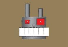 Angry robot Stock Photo