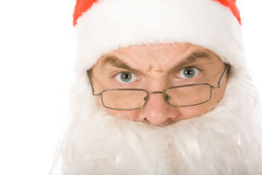 Angry Santa Claus Royalty Free Stock Image