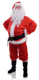 Angry santa. Santa displeased with naughty behaviour isolated on a white background Royalty Free Stock Photo