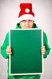 Angry Santa Royalty Free Stock Photo