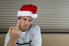 Angry santa Stock Photos
