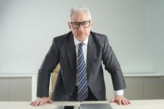 Angry entrepreneur Stock Photography
