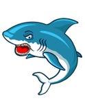 Angry Shark Cartoon Stock Photo
