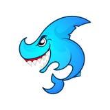 Angry shark logo Stock Image