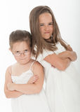 Angry sisters Royalty Free Stock Photos
