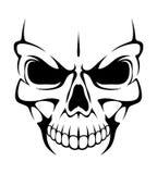 Angry skull Stock Photos