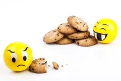 Angry Smiley Stock Photo