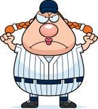 Angry Softball Player Stock Photo