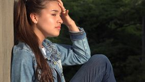 Angry Stressed And Distraught Female Stock Image