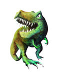 Angry T-Rex Royalty Free Stock Image