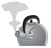 Angry Tea Pot Stock Photos