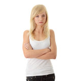 Angry Teenager Royalty Free Stock Images