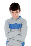 Angry teenager boy Royalty Free Stock Photos