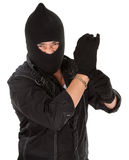 Angry thief Royalty Free Stock Images