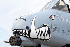 Angry thunderbolt Stock Images
