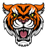 Angry Tiger Mascot Royalty Free Stock Photography