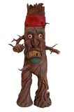 Angry Tree Figure Royalty Free Stock Images