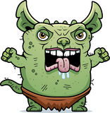 Angry Ugly Gremlin Royalty Free Stock Photography