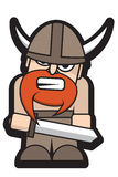 Angry Viking Royalty Free Stock Photos