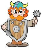 Angry viking warrior Royalty Free Stock Photography