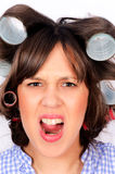 Angry wife Royalty Free Stock Images