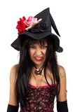 Angry witch Royalty Free Stock Photography