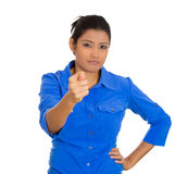 Angry woman Royalty Free Stock Image