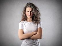 angry woman Στοκ εικόνες με δικαίωμα ελεύθερης χρήσης