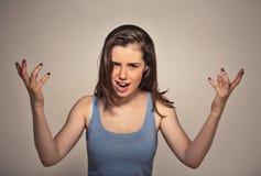 angry woman Στοκ Εικόνα