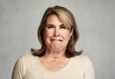 angry woman στοκ φωτογραφία