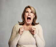 angry woman στοκ φωτογραφίες με δικαίωμα ελεύθερης χρήσης