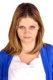 Angry woman Stock Photos