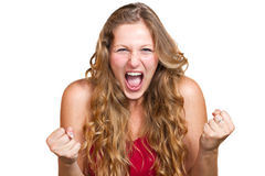 Angry women Stock Image