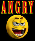 Angry Word 4 Royalty Free Stock Images