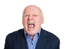Angry yelling Stock Photography