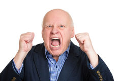 Angry yelling Royalty Free Stock Images