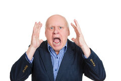 Angry yelling Royalty Free Stock Photo