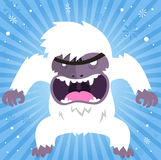 Angry Yeti Stock Photography