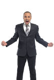 Angry young businessman Royalty Free Stock Images