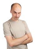Angry young man Stock Image