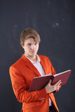 Angry young teacher Stock Images