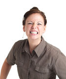 Angry young woman Stock Photography