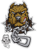 angrydog de Piqûre-taureau illustration libre de droits