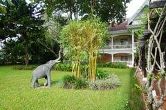 Angsana Maison Souvannaphoum在琅勃拉邦,老挝 免版税库存图片