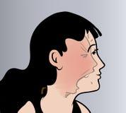 Angst royalty-vrije illustratie