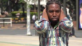 Angst, besorgt, Druck, Nervosität stock video footage