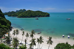 angthong海洋国家公园 免版税库存照片