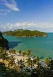 AngThong海洋国家公园观点,苏梅岛,泰国 库存照片
