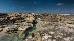 angthong εθνική όψη της Ταϊλάνδης θάλασσας πάρκων Πανόραμα της θάλασσας και του ουρανού Θάλασσα idyll Στοκ Εικόνες