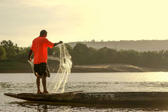 angthong εθνικό πάρκο Ταϊλάνδη ατόμων αλιείας Στοκ φωτογραφίες με δικαίωμα ελεύθερης χρήσης